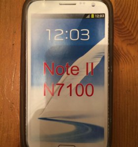 Силиконовый чехол galaxy note 2 ( n7100)