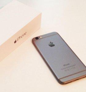 Новый apple iphone 6 space gray 16 gb