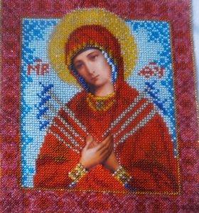 Вышивка бисером и крестом