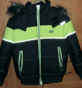 Зимняя куртка для мальчика фирмы Lenne