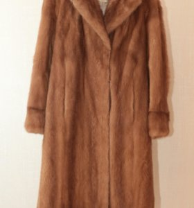 Оверсайз пальто из норки р-р 46 - 48