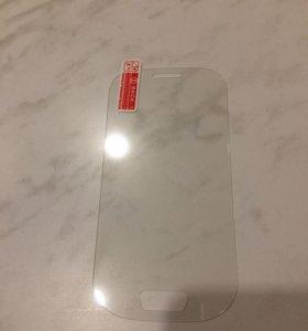 Защитное стекло Samsung s3 mini