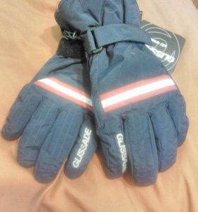 Перчатки горнолыжные мужские GLISSADE синие.