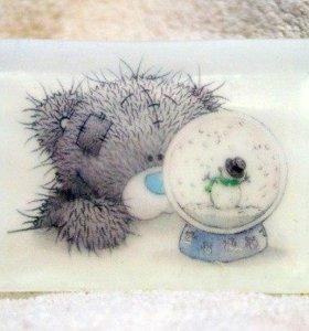 Мишки Тедди (мыло ручной работы)