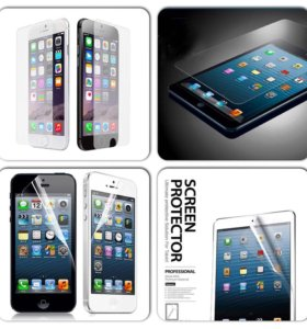 Защитные пленки и каленные стекла на айфоны