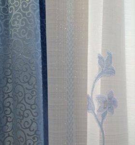 Ткань для штор, портьера, тюль