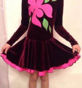Новое платье по фигурному катанию