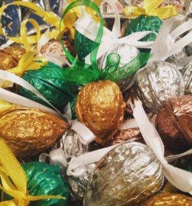 орешки с предсказаниями, подарки