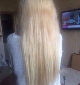 Наращивание волос , ресниц