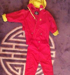 Комплект Skila ветровка и брюки 140-146