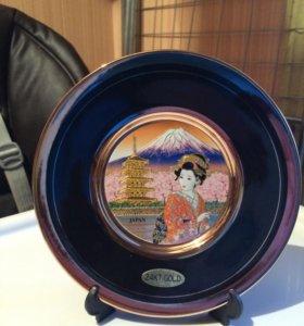 Коллекционая тарелка Chokin