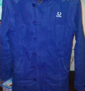 Куртка парка на подростка размер М б/у