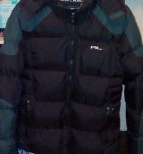 Курта зимняя размер L на подростка б/у
