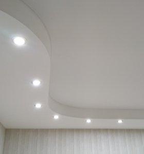 Натяжные тканевые потолки.  Тел. 8-903-015-25-14