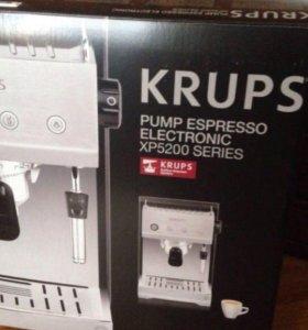 Кофемашина Krups Pump espresso electro xp5200