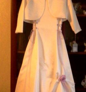Платье с болеро новое