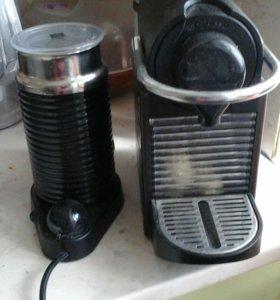 Кофемашина Неспрессо. Без капучинатора