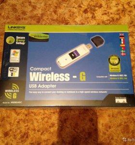 USB WiFi адаптер linksys wusb54GC-EU USB