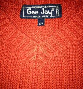 Джемпер красный для мальчика