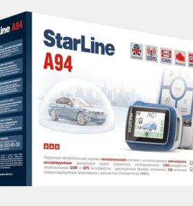 Старлайн А94 автозапуск