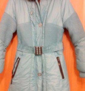 Куртка зимняя на синтепоне 46-48 размера.