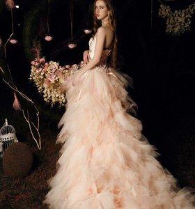 Роскошное пышное платье