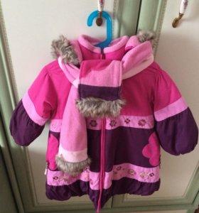 Зимнее пальто deux par deux