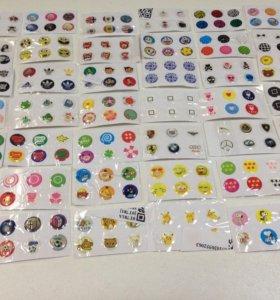 Кнопки с рисунками для iPhone