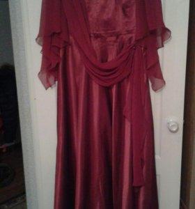 Шикарное платье большой размер