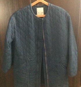 Джинсовая куртка pul&bear