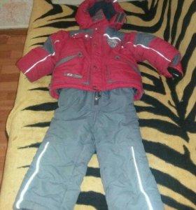 Зимний костюм на рост 98-110
