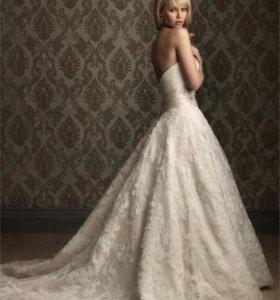 Платье свадебное новое М в упаковке