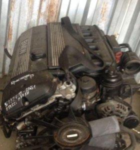 Контрактный двигатель БМВ Е39  М54 2,2л