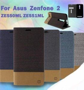 Новый чехол на Asus zenfone 2 5'5 ZE550/551ML