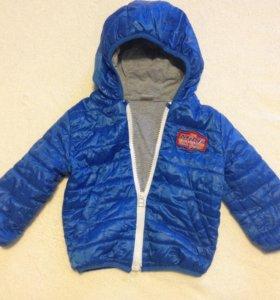 Продам вес-осен мальчуковую куртку до 86 см включ