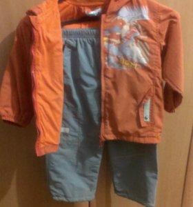 Куртка и штаны мальчуковые