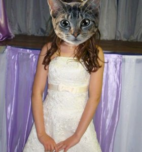 Платье выпускное.