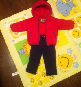 Курточка и штанишки Zara