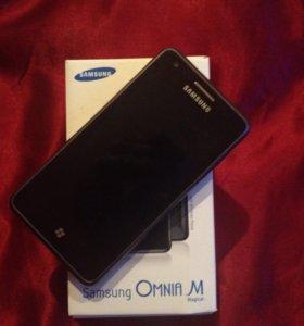 Продам Samsung omnia m