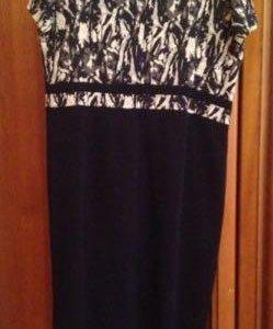 Новый костюм . Платье+ пиджак 54р новое