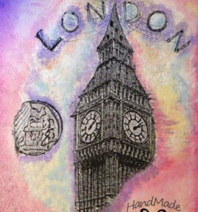"Декоративная доска ""Лондон """