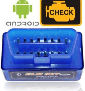OBD2 адаптер ELM327 Bluetooth Mini для Android
