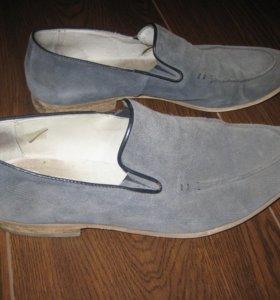 Туфли замшевые carlo pazollini