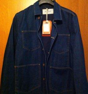 Джинсовая куртка. Тип пиджак