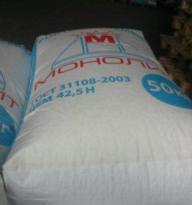 Пескобетон м300, плиточный клей и цемент