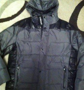 Зимняя пуховая куртка Zara мужская новая