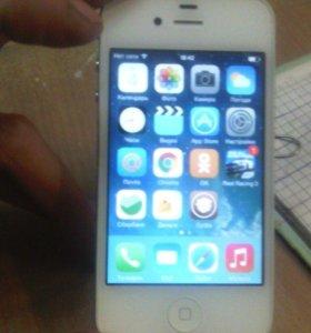 iPhone 4 32 гб требует Id чистый