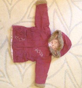 Детская вельветовая курточка,весна-осень