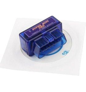 Автосканер диагностический ELM327 bluetooth mini