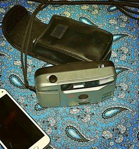 Olympus пленочный фотоаппарат